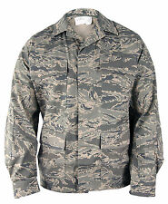 ABU MENS COAT/JACKET AIR FORCE USAF RIP STOP TIGER STRIPE- PROPPER F5425
