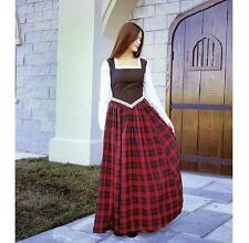 Scottish Highland Lassie Dress. Perfect For Stage & Re-enactment Costume & LARP.