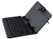 "Leather Case Cover + USB keyboard For Kocaso 7""  M736 M772 Android 4.1 Tablet"