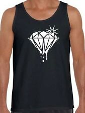 """New For Mens Printed Big """"Diamond"""" AAA Brand MMA Funny Tank Top HIP HOP All Size"""