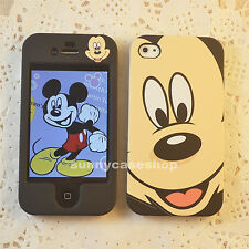 Cartoon Black Mickey mouse fullbody hard case cover for Apple iphone 5S 5C 4S