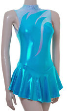 Skating Dress - KINGFISHER SHEEN METALIC / MULTI BLUE  -  ALL SIZES AVAILABLE