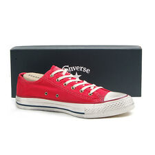 CONVERSE CHUCK TAYLOR ALL STAR WASHED CANVAS OX RED 136715C
