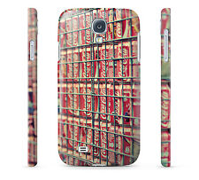Coca Cola Cans Wall - Hard Cover Case for iPhone, Samsung, 65+ other phones
