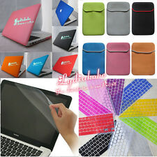 """4in1 For Macbook Pro 13"""" A1278/15"""" A1286  Rubberized Matte Hard Case Cover Shell"""