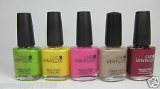 NEW - CND VINYLUX WEEKLY POLISH - .5OZ