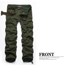 MATCH Men  Military Casual Cargo Camo Combat Work Pants Trousers 30-36 #6516