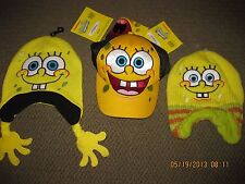 SpongeBob Square Pants Toddler Cap Hat One Size Fits Most Brand New