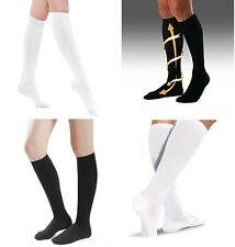 Compression Mmhg High Socks Calf Support Comfy Relief Leg Men & Women Size