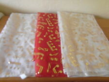 "womens scarves musical note  in 3 colour size lenght 60"" width 18"""