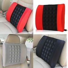 Car Vehicle Electrical Massage Office Back Seat Lumbar Support Cushion Pillow