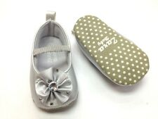 New ZARA BABY Soft Sole Baby Girls Diamonte Crib Shoes. 4 Colors. Age 0-18 Mths