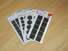 Self Adhesive Hvy Duty Foam Rubber Protective Feet 2 Sizes & Shapes You Choose