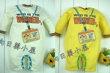 NWT Infant Clothes WHO IS THE WINNER 0~18months - Multi color