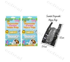 Box of 100 pcs Disposable Nappy Disposal Bags Scented