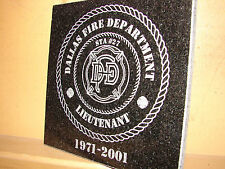 Stone Personalized Laser Tribute Plaque Gifts Awards XIV