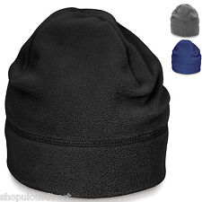 Fleece Mütze Weich Winter Outdoor Warm Beanie Wollig Ski