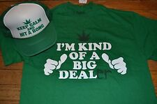 "Spencer's ""I'M KIND OF A BIG DEALer"" Funny Tee College Drugs Pot Leaf"