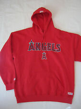 New Mens XL Stitches Team Angles Hoodie Sweat Shirt, Red/Navy, 70% Cotton