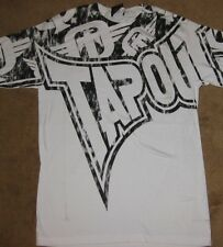 "TAPOUT Adult T-Shirt ""All Or Nothing""  Small MSRP $24.99 Tee MMA , UFC, BOXING"