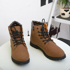 Retro England Style Combat boots Winter Mens Leisure Casual Shoes Lace-up XMM012