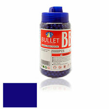 6mm BB GUN PELLETS BULLETS AMMO AIRSOFT JAR  PREMIUM QUALITY BLUE COLOR