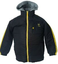 The Lion Force Boy's knit sweat-hood Jacket light winter coat 2-tone colors