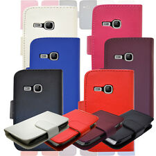 New Flip Wallet Leather Phone Case Cover For Samsung Galaxy Young GT-S6310 S6310