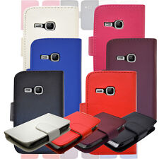 New Flip Wallet Leather Phone Case Cover For Samsung Galaxy Young GT-S6310 S6312
