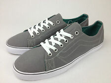 VANS. Genuine Women's or Mens DELRAY Classic Canvas GREY Shoes. US Women 11.