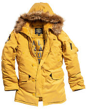 Alpha Industries Altitude Parka N-3B inspired Oxford Nylon WARM! Vibrant Colors!