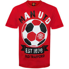 Manchester United FC Official Football Gift Infants Graphic T-Shirt Red