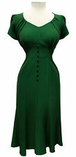 Stop Staring! Holly Green Dress- NWT XS-1X
