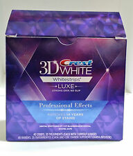 Crest3D White Professional Effects Whitestrips Teeth whitening 5/10/20 Pouches