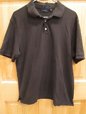 CLUB ROOM MENS POLO SHIRT - SIZE LARGE - SELECT BLACK OR GREEN - GOOD CONDITION