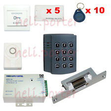 RFID/ EM Card Reader Access Control Full Kit Set-Electric Strike Door Lock