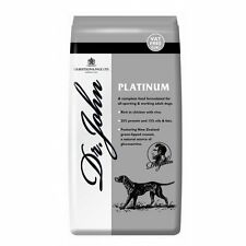 Dr Johns Gold Platinum & Silver Dry Dog Food All Breeds Choice of Flavours 15kg