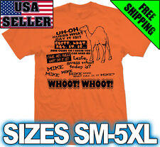 HUMP DAY Camel Shirt - Funny Geico Car Commercial humpday Orange What day is it?