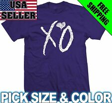 XO THE WEEKND ~ T-SHIRT drake weekend ovoxo hip yolo hop ALL SIZES & COLORS!