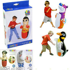 3D Bop Bag Boxing Punching Kid INFLATABLE Toys BOXER TIGER PENGUIN PIRATES BUDDY