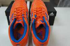 Adidas Badminton Shoes BT Feather Team Orange/Blue, F32932, High Quality