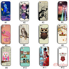 New Cute Animal Design Hard Shell Back Case Cover Skin For iPhone 5 5G 5S