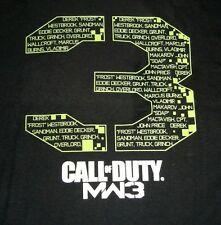 Call of Duty MW3 Adult Shirt Modern Warfare 3 Officially Licensed BRAND NEW