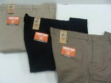Dockers Men's Comfort Khaki Flat Front Dress Pants in Assorted Colors/Sizes NWT