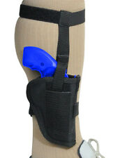 Barsony Gun Concealment Ankle Holster for Charter Arms 22 327 38 357 Snub 2""