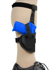 Barsony Gun Concealment Ankle Holster for FEG, Makarov 380 Ultra-Comp 9mm 40 45