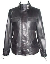 Women Big & All Size 4192 Fitted Female Leather Jacket Fashion Expensive Fabric