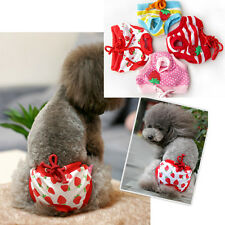 1pc Underwear Puppy Pet Dog Sanitary Pant Diaper Short Panty Physiological