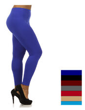 Womens Plus Size Thin Leggings One Size Fits 1XL,2XL,3XL sz(14-20) All Colors !