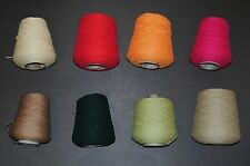 SILK CITY SOFTBALL COTTON-BEAUTIFUL YARN FOR BULKY MACHINES-GREAT VALUE + COLORS